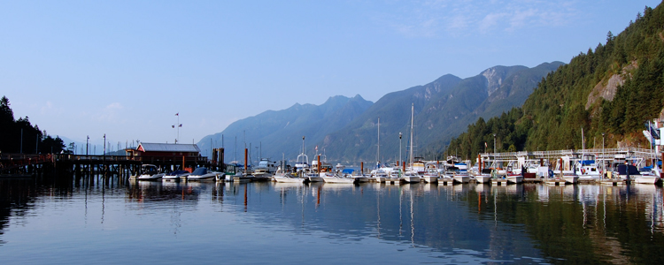 Getting To Nanaimo from Vancouver: Horseshoe Bay