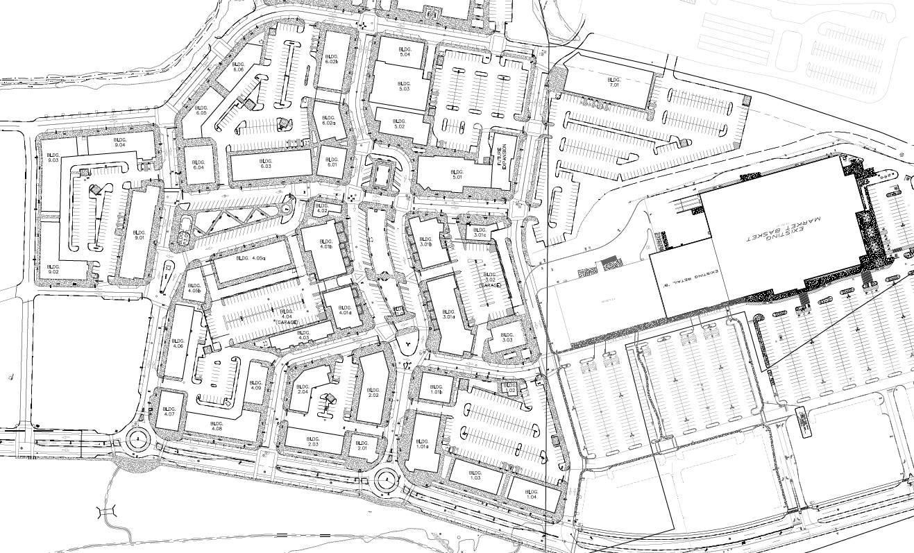 woodmont commons site plan