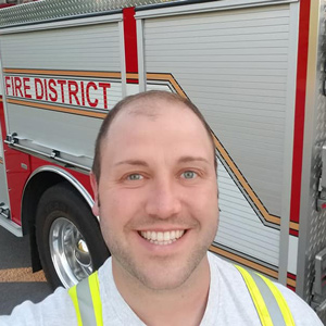 Firefighter Michael Slusser, Everyday Heroes Program