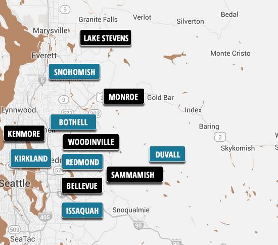 Snohomish County & King County Homes for Sale