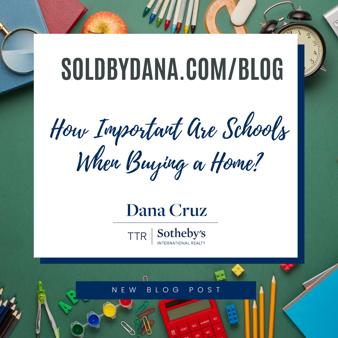 Are schools important when buying a home