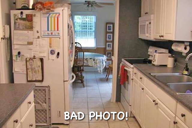 Bad real estate photo