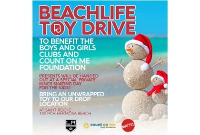 Beach Life Toy Drive