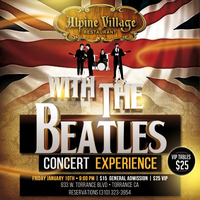 with the beatles concert