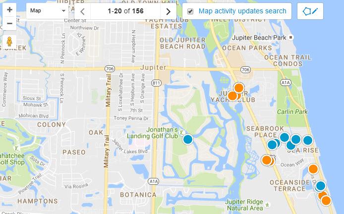 Jupiter Real Estate Map Search