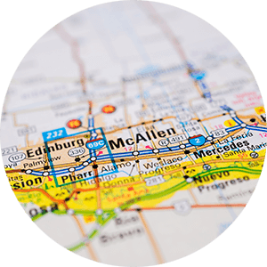 McAllen Real Estate Map Search