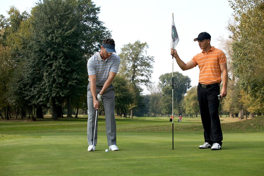 Play great golf near Tiburon homes.