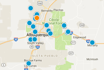 SW Albuquerque Real Estate Map Search