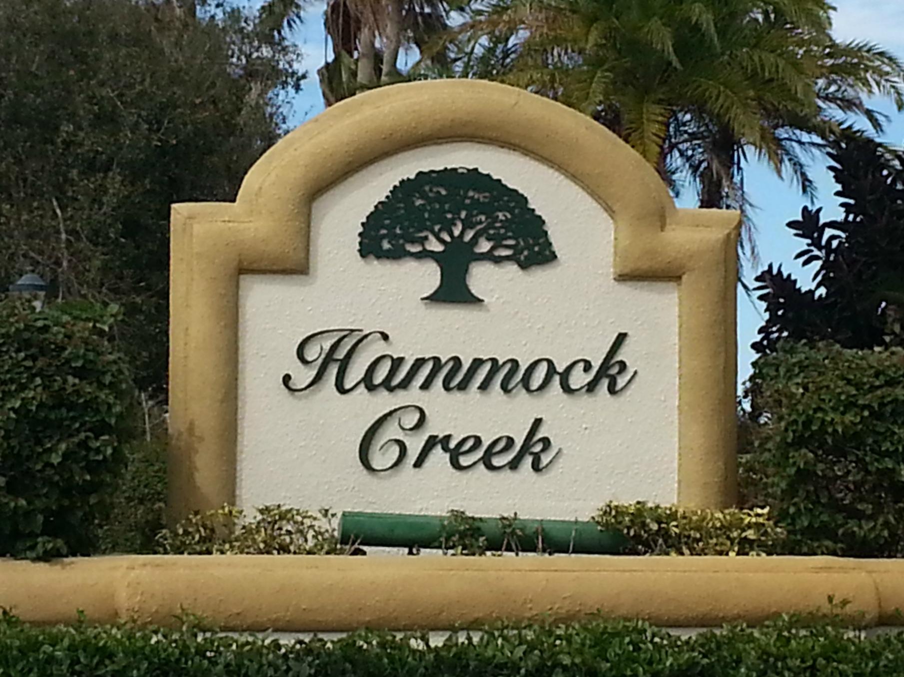 Estates of Hammock Creek sign