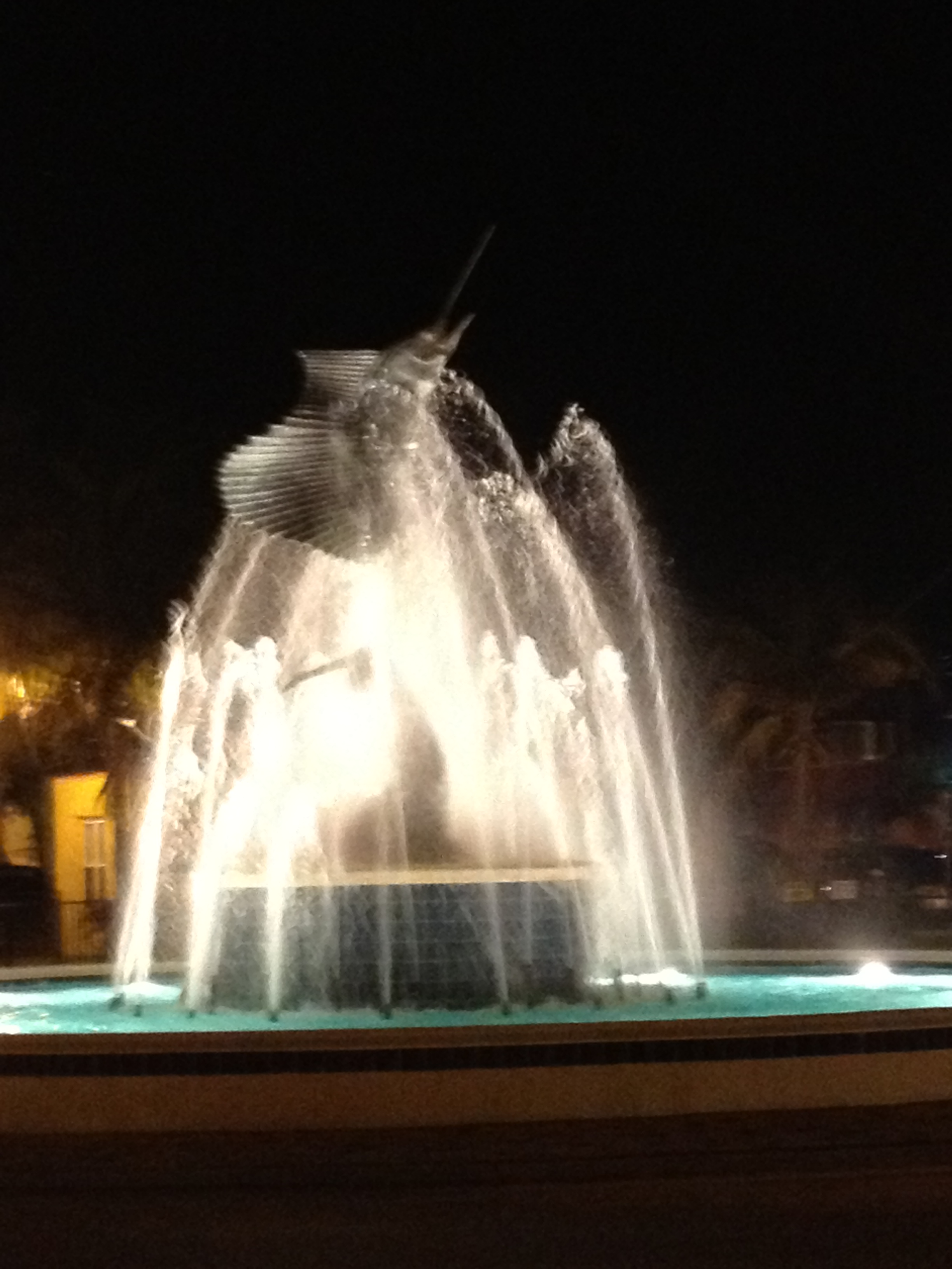 Stuart sailfish statue