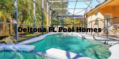 Deltona FL Pool Homes For Sale