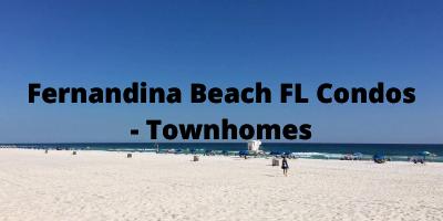Fernandina Beach FL Condos - Townhomes For Sale