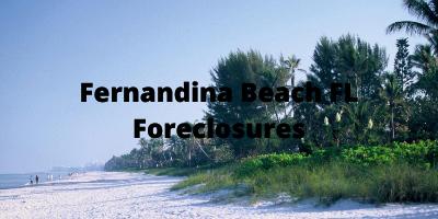 Fernandina Beach FL Foreclosures For Sale