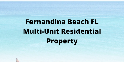 Fernandina Beach FL Multi-Unit Residential Property For Sale
