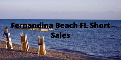 Fernandina Beach FL Real Estate Short Sales