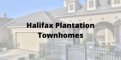 Halifax Plantation Ormond Beach FL Townhomes For Sale