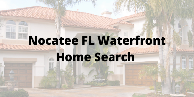Nocatee FL Waterfront Home Search