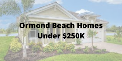 Ormond Beach Homes For Sale Under $250K