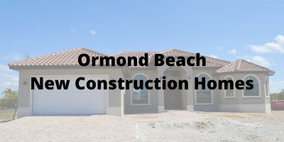 Ormond Beach New Construction Homes For Sale