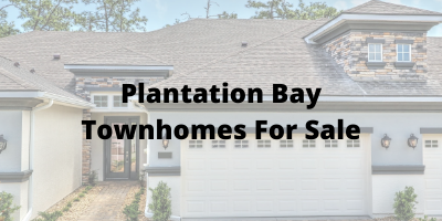 Plantation Bay Townhomes For Sale