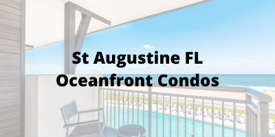 St Augustine FL Oceanfront Condos For Sale