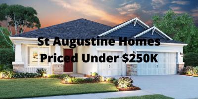 St Augustine Homes Priced Under $250K