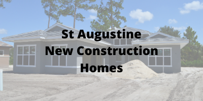 St Augustine New Construction Homes For Sale