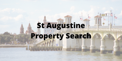 St Augustine FL Property Search