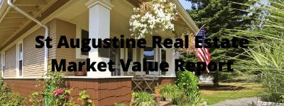 St Augustine Real Estate Market Value Report