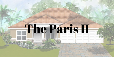 The Paris II Model On Your Lot