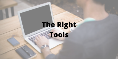 the right tools