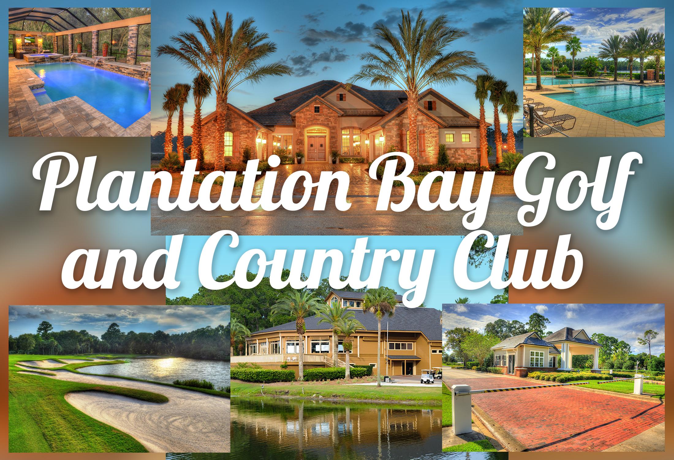 Plantation Bay Ormond Beach FL Pool Homes For Sale