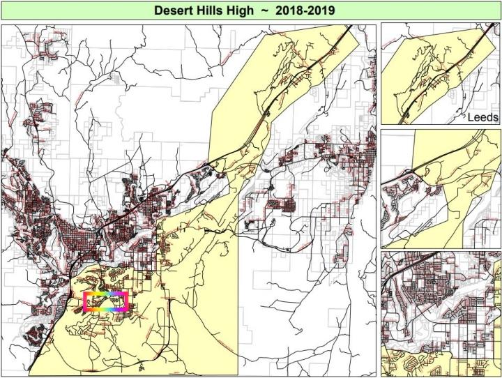 Homes for Sale in Desert Hills Schools Boundaries