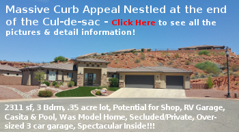 Newer St George Homes for Sale- Escalera