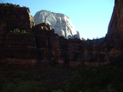 Zion National Park - Rock Monolith Grandeur