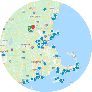 Interactive Map Search