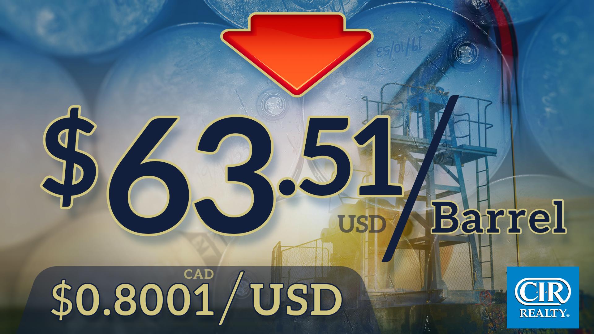 Oil Prices Jan 22, 2018
