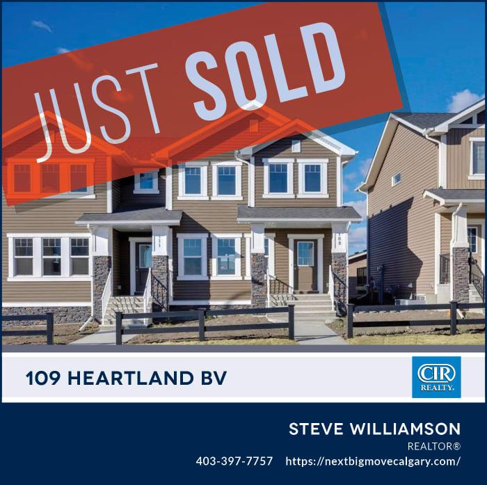 SOLD - 109 Heartland Bv Cochrane