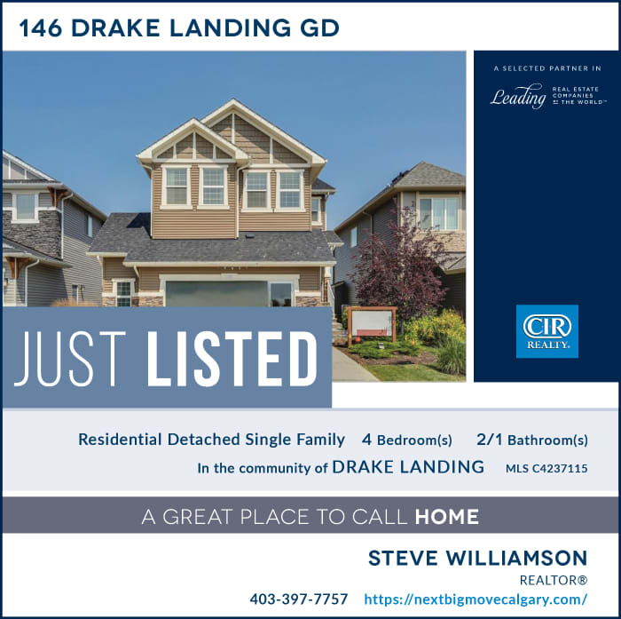 Just Listed - 146 Drake Landing Gdn Okotoks