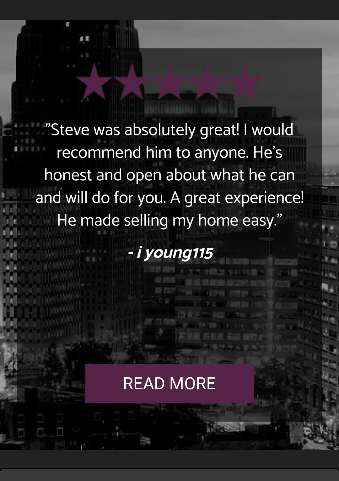 Read More Reviews About Steven Edward