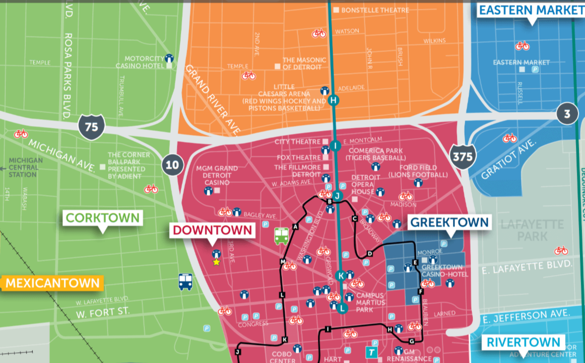 How To Get Around In Detroit