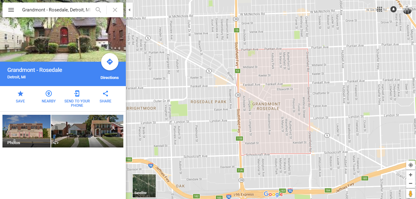 Grandmont Map