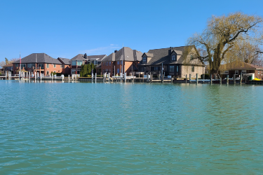 Lakefront Homes For Sale In Harrison Twp.