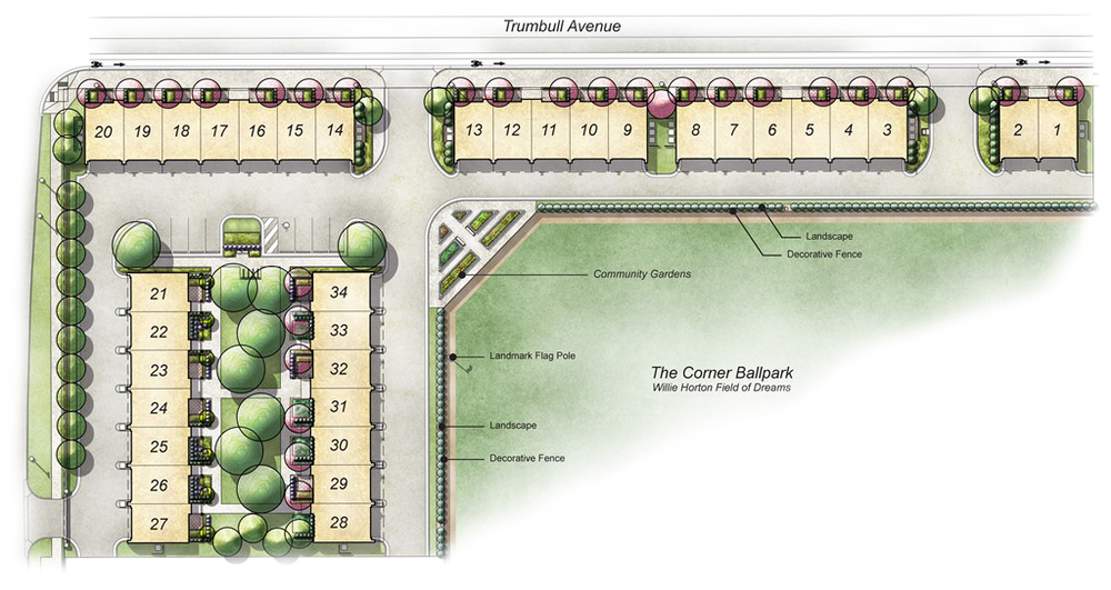 Tiger Towns At The Corner - Site Plan