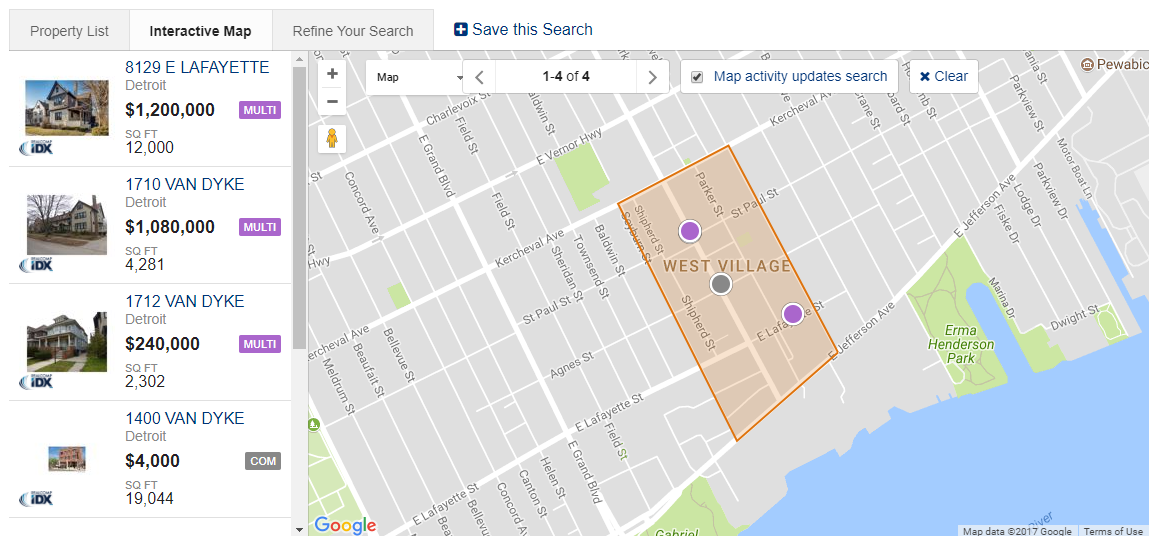 West Village Map