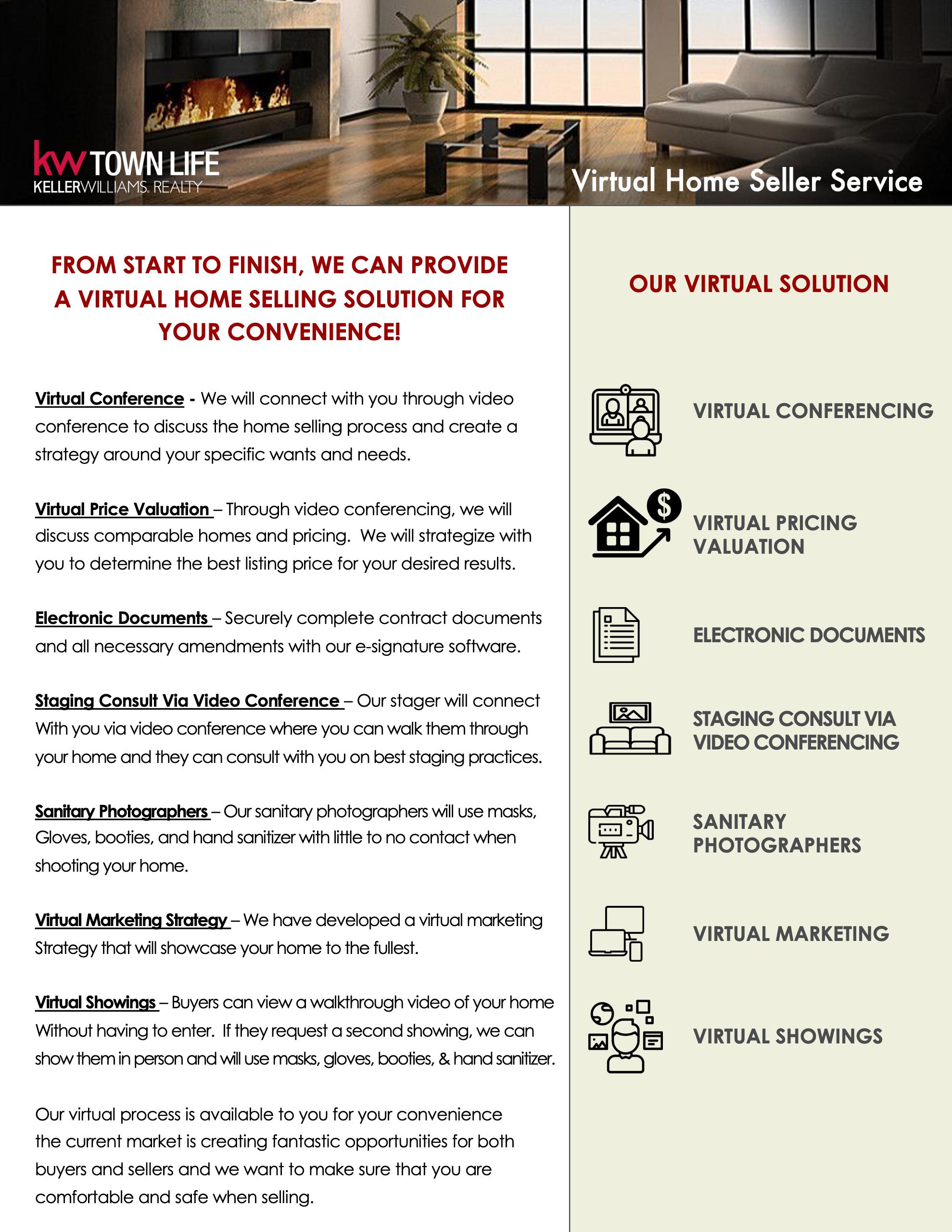 Virtual Home Seller Solution