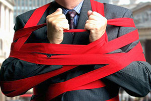financial red tape