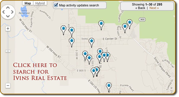 Ivins real estate map search