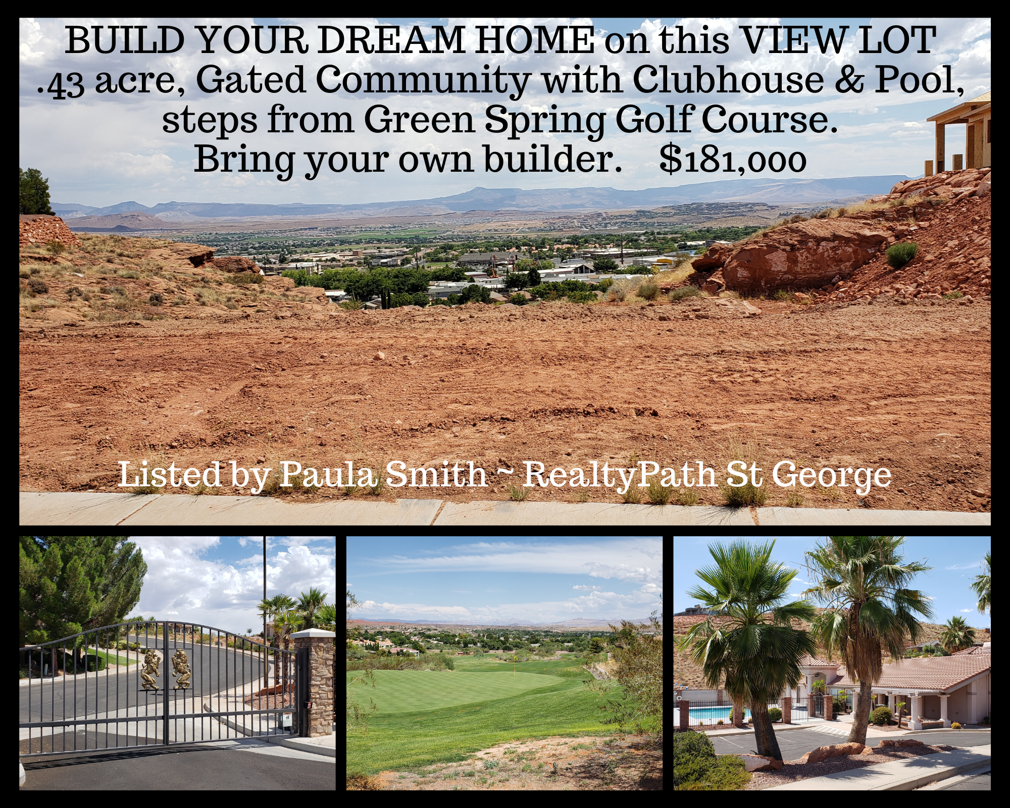 Home for Lion Head Green Spring St George Utah