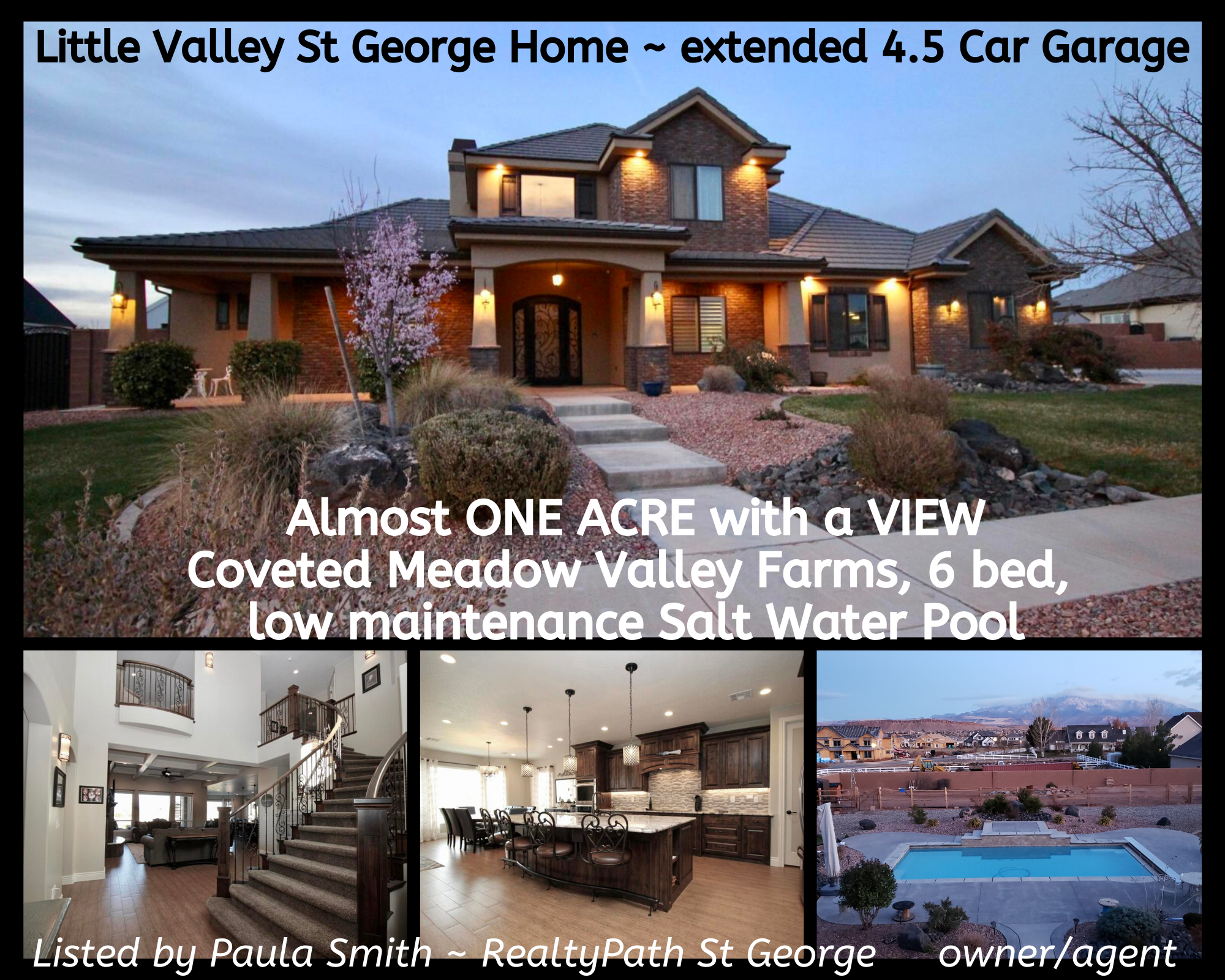Little Valley St George Home For Sale